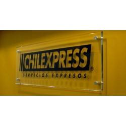Letrero para fachada de negocios y oficinas