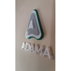 Logo Corporativo Volumétrico de Acrílico